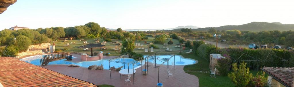 Ausblick vom Hotel Speraesole Murta Maria, Olbia, Sardinien
